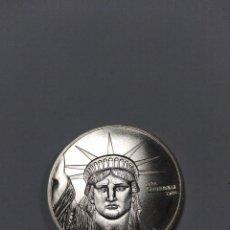 Monete antiche di America: LIBERTY TRADE SILVER ONE DOLLAR DOLAR 1 UN 1886 1986 CONMEMORATIVA PLATA SIN CIRCULAR ESTATUA. Lote 210023225