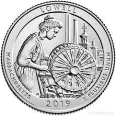 Monedas antiguas de América: USA 2019 1/4 DE DOLAR LOWELL NATIONAL HISTORICAL PARK S. Lote 228784630