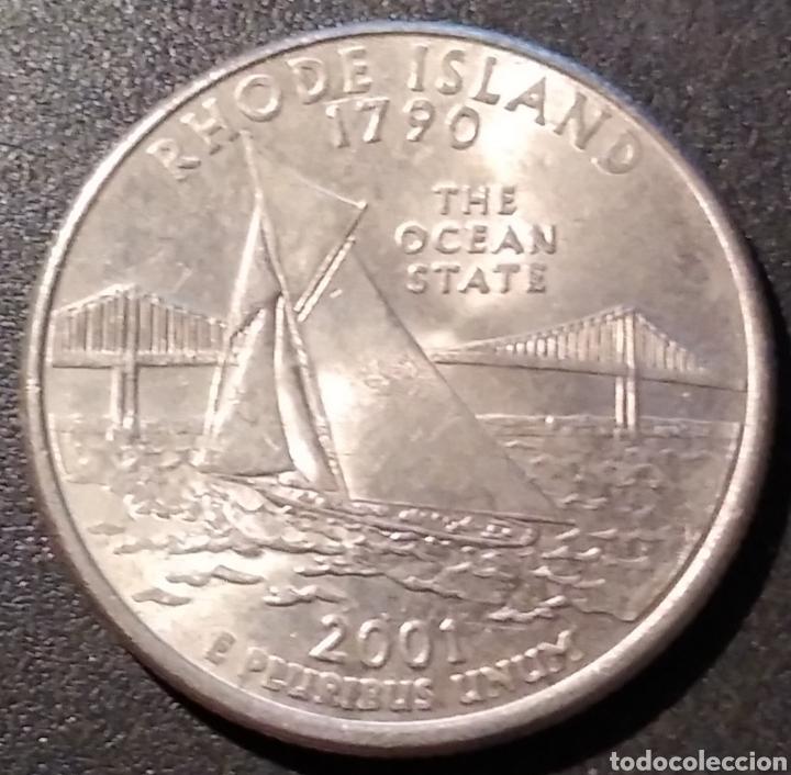 EEUU / ESTADOS UNIDOS / USA QUARTER 2001 P RHODE ISLAND - ENVIO GRATIS A PARTIR DE 35€ (Numismática - Extranjeras - América)
