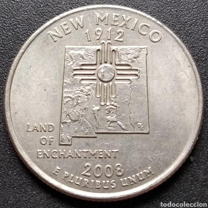 EEUU / ESTADOS UNIDOS / USA QUARTER 2008 P NEW MEXICO - ENVIO GRATIS A PARTIR DE 35€ (Numismática - Extranjeras - América)