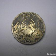 Monedas antiguas de América: MÉXICO, ESTADO LIBRE DE GUANAXUATO DE 1856. CUARTILLO DE METAL. Lote 194317047