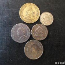 Monedas antiguas de América: CONJUNTO DE MONEDAS DE HONDURAS ALGUNAS DIFICILES. Lote 218156386