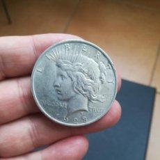 Monedas antiguas de América: MONEDA DE 1 DOLAR.TIPO PEACE DE EEUU.DEL AÑO 1923.DE PLATA.ONE DOLLAR.ORIGINAL%. Lote 194506656