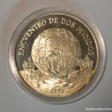 Monedas antiguas de América: CHILE - 10000 PESOS 1991 - ENCUENTRO DE DOS MUNDOS - PLATA - LOT. 2302. Lote 194507422