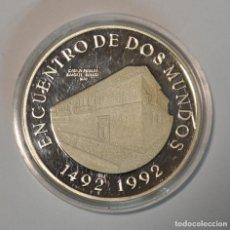Monedas antiguas de América: COLOMBIA - 10000 PESOS 1991 - ENCUENTRO DE DOS MUNDOS - PLATA - LOT. 2309. Lote 194603048
