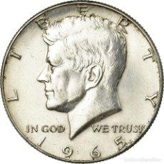 Monedas antiguas de América: MONEDA, ESTADOS UNIDOS, KENNEDY HALF DOLLAR, HALF DOLLAR, 1965, U.S. MINT. Lote 194680820