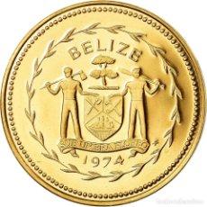 Monedas antiguas de América: MONEDA, BELICE, CENT, 1974, FRANKLIN MINT, FDC, BRONCE, KM:38. Lote 194685585