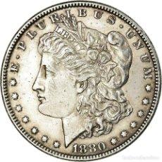 Monedas antiguas de América: MONEDA, ESTADOS UNIDOS, MORGAN DOLLAR, 1880, PHILADELPHIA, MBC+. Lote 194688758