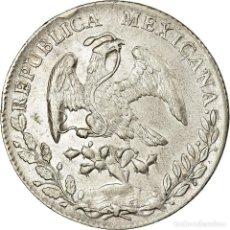 Monedas antiguas de América: MONEDA, MÉXICO, 8 REALES, 1895, MEXICO CITY, MBC+, PLATA, KM:377.10. Lote 194740627