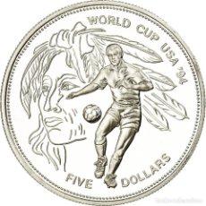 Monedas antiguas de América: MONEDA, BARBADOS, 5 DOLLARS, 1994, PROOF, SC, PLATA, KM:54. Lote 194740735