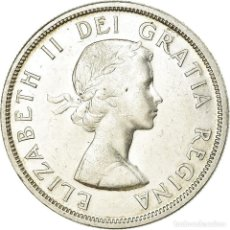 Monedas antiguas de América: MONEDA, CANADÁ, ELIZABETH II, DOLLAR, 1958, ROYAL CANADIAN MINT, OTTAWA, MBC+. Lote 194741787