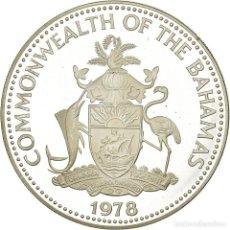 Monedas antiguas de América: MONEDA, BAHAMAS, ELIZABETH II, 10 DOLLARS, 1978, TOWER OF LONDON, LONDON, PROOF. Lote 194742492