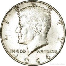 Monedas antiguas de América: MONEDA, ESTADOS UNIDOS, KENNEDY HALF DOLLAR, HALF DOLLAR, 1964, U.S. MINT. Lote 194744010