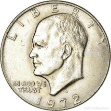 Monedas antiguas de América: MONEDA, ESTADOS UNIDOS, EISENHOWER DOLLAR, DOLLAR, 1972, U.S. MINT, DENVER, EBC. Lote 194744015