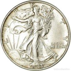 Monedas antiguas de América: MONEDA, ESTADOS UNIDOS, WALKING LIBERTY HALF DOLLAR, HALF DOLLAR, 1943, U.S.. Lote 194744135