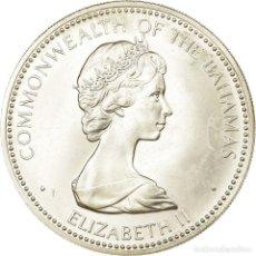 Monedas antiguas de América: MONEDA, BAHAMAS, ELIZABETH II, 10 DOLLARS, 1973, FRANKLIN MINT, U.S.A., SC. Lote 194744357