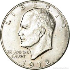 Monedas antiguas de América: MONEDA, ESTADOS UNIDOS, EISENHOWER DOLLAR, DOLLAR, 1972, U.S. MINT, DENVER, EBC. Lote 194745226