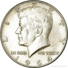 Monedas antiguas de América: MONEDA, ESTADOS UNIDOS, KENNEDY HALF DOLLAR, HALF DOLLAR, 1964, U.S. MINT. Lote 194745285