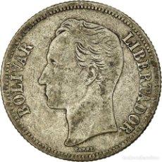 Monedas antiguas de América: MONEDA, VENEZUELA, GRAM 5, BOLIVAR, 1945, PHILADELPHIA, MBC, PLATA, KM:22A. Lote 194745426