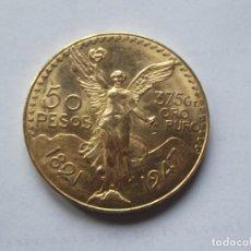 Monedas antiguas de América: 50 PESOS DE ORO , MEXICO 1947 . Lote 194962640