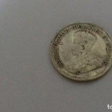 Monedas antiguas de América: MONEDA DE PLATA DE 5 CENTIMOS DEL AÑO 1919. Lote 195040200