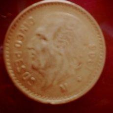 Monedas antiguas de América: 5 PESOS 1906 MEXICO . Lote 195053108
