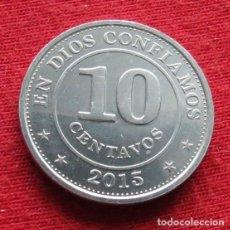 Monedas antiguas de América: NICARAGUA 10 CENTAVOS 2015. Lote 195154041