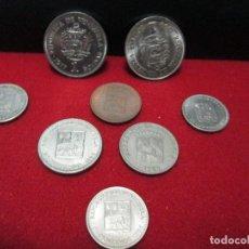 Monedas antiguas de América: 8 MONEDAS VENEZUELA. Lote 195268315
