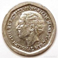 Monedas antiguas de América: JAMAICA MONEDA 5 DOLARES 1994. Lote 195341137