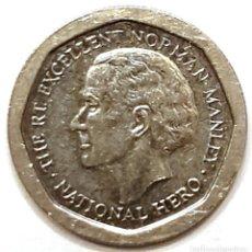 Monedas antiguas de América: JAMAICA MONEDA 5 DOLARES 1996. Lote 195341185