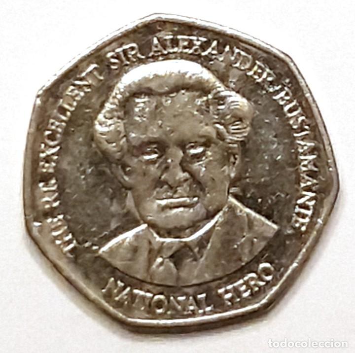 Monedas antiguas de América: JAMAICA MONEDA 1 DOLAR 2005 - Foto 2 - 195341270