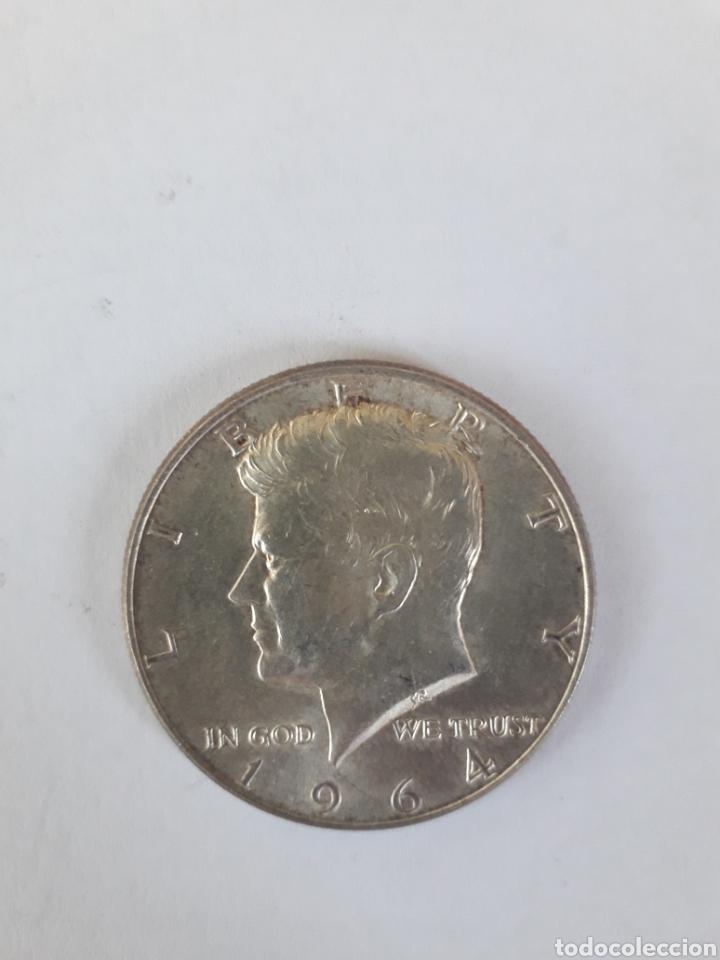 MEDIO DOLAR KENEDY 1964 HALF DOLAR USA ESTADOS (Numismática - Extranjeras - América)