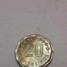 Monedas antiguas de América: 20 CENTÉSIMOS URUGUAY 1981. Lote 195429743