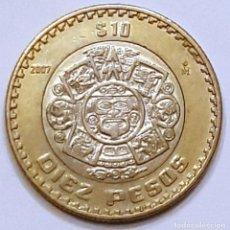 Monedas antiguas de América: MEXICO 10 PESOS 2007. Lote 195436776