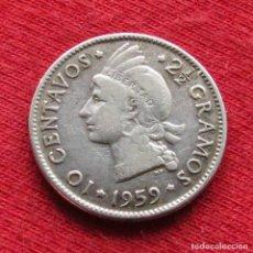 Monedas antiguas de América: DOMINICANA 10 CENTAVOS 1959. Lote 195439498