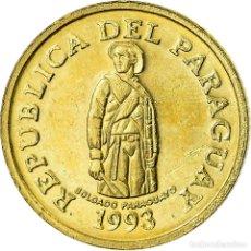 Monedas antiguas de América: MONEDA, PARAGUAY, BEATRIX, GUARANI, 1993, MBC, LATÓN CHAPADO EN ACERO, KM:192. Lote 195446825