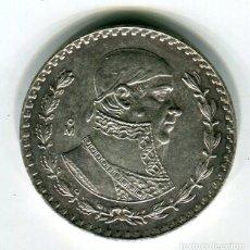 Monedas antiguas de América: ESTADOS UNIDOS MEXICANOS 1 (UN) PESO 1963 PLATA. Lote 195454961