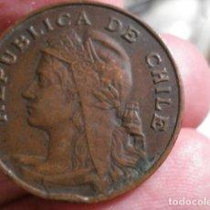 Monedas antiguas de América: ESCASA MONEDA DE CHILE 2 CENTIMOS Y MEDIO AÑO 1906 - MIRA OTRAS EN VENTA. Lote 195523316