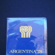 Monedas antiguas de América: CARTERA DE MONEDAS CONMEMORATIVA DEL MUNDIAL DE FUTBOL DE ARGENTINA 78.S/C NUEVA!. Lote 195654417