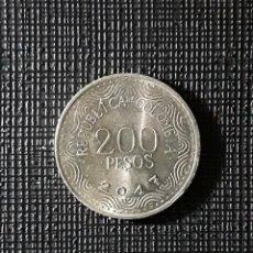 Monedas antiguas de América: COLOMBIA 200 PESOS 2017 KM297. Lote 196394587