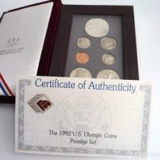 Monedas antiguas de América: USA 1992 - THE 1992 U.S. OLYMPIC COINS PRESTIGE SET - UNITED STATES OF AMERICA 1992S - SIN CIRCULAR. Lote 196940247