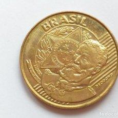 Monnaies anciennes d'Amérique: MONEDA DE BRASIL. 25 CENTAVOS. AÑO 1999.. Lote 197499238