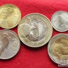 Monedas antiguas de América: COLOMBIA SERIE 50 100 200 500 1000 PESOS 2015 UNC. Lote 236222275