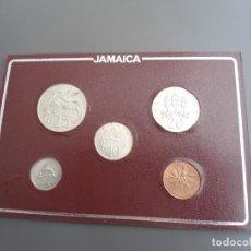 Monedas antiguas de América: JAMAICA 1973 - SET DE 5 VALORES COMPLETO - PERFECTO ESTADO (SC). Lote 197791547