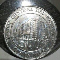 Monedas antiguas de América: PARAGUAY 500 GUARANÍES 2016. Lote 198056435