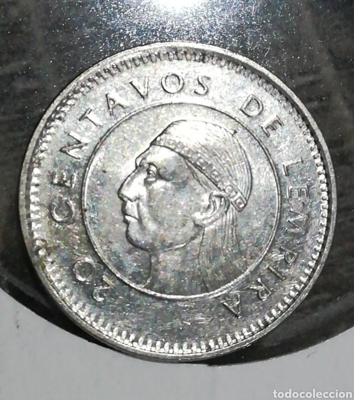 HONDURAS 20 CENTAVOS 1999 (Numismática - Extranjeras - América)