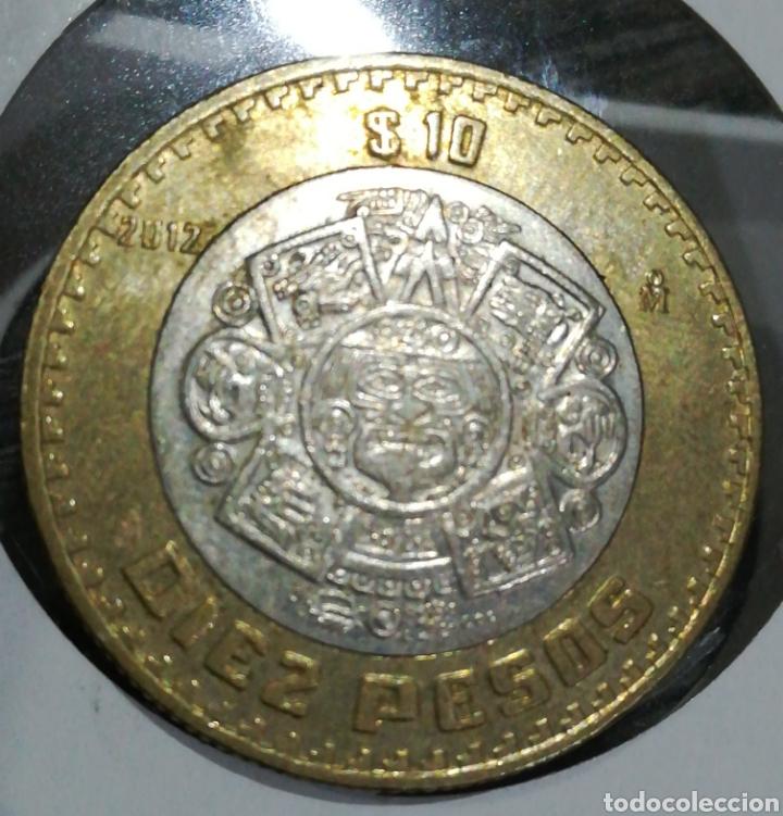 MÉXICO 10 PESOS 2012 (Numismática - Extranjeras - América)