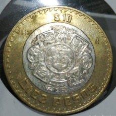Monedas antiguas de América: MÉXICO 10 PESOS 2012. Lote 198059711
