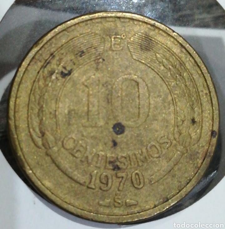 CHILE 10 CENTÉSIMOS 1970 (Numismática - Extranjeras - América)