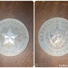 Monedas antiguas de América: MONEDA. CUBA. UN PESO. 1934. VER FOTOS. Lote 198172572